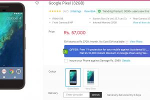 Pixel Snapdeal Offer