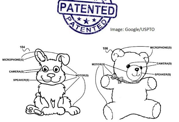 Google patent toys