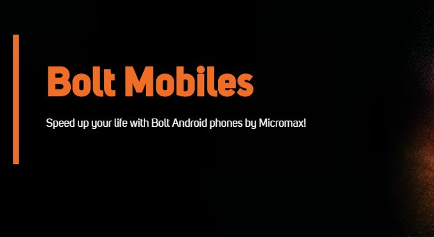 Bolt Mobiles Micromax