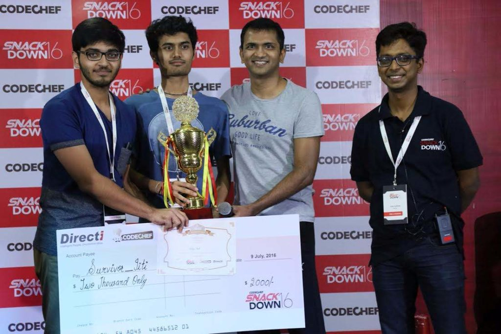 Indian Winners SnackDown 2016
