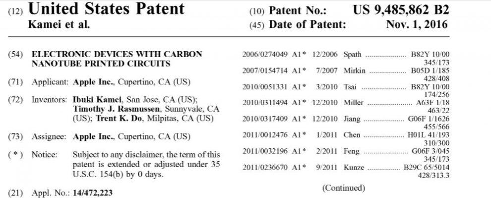 Patent apple foldable smartphone